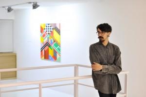 Saboreando artistas galería exposición Espacio Nuca Eduardo Nuca arte plástico Salamanca jesús padilla