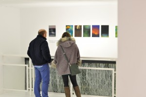 Saboreando artistas galería exposición Espacio Nuca Eduardo Nuca arte plástico Salamanca
