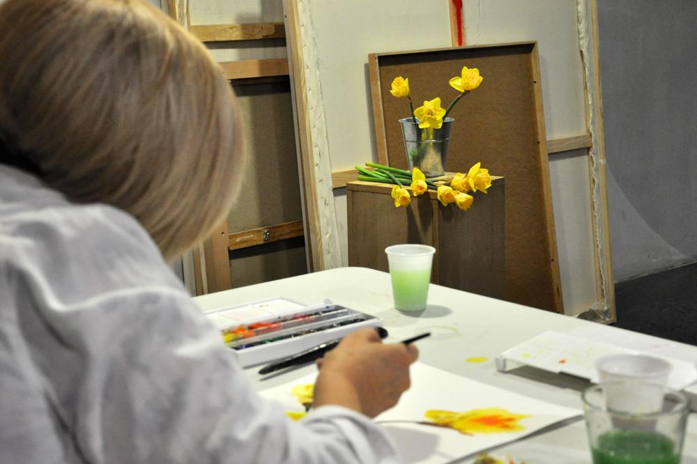taller de dibujo y pintura para adolescentes y adultos en Salamanca