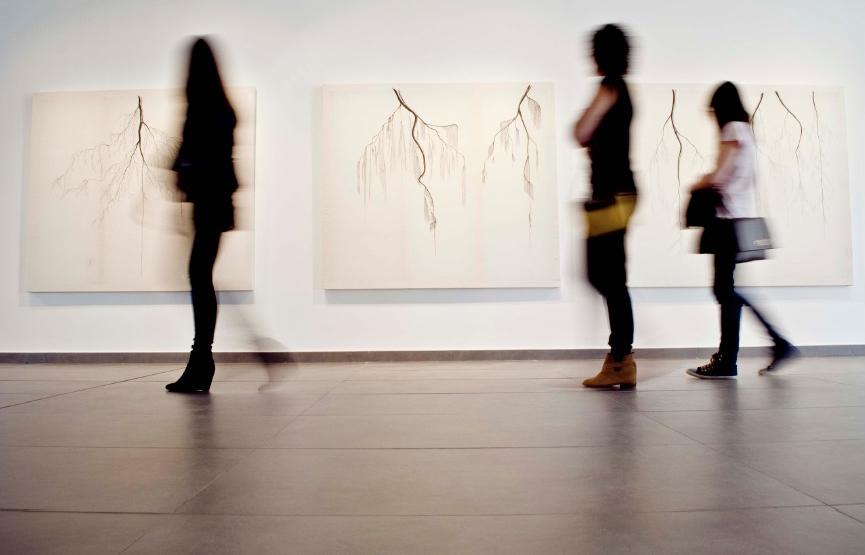 Carlos Villoslada museo exposición arte conceptual Espacio Nuca Eduardo Nuca