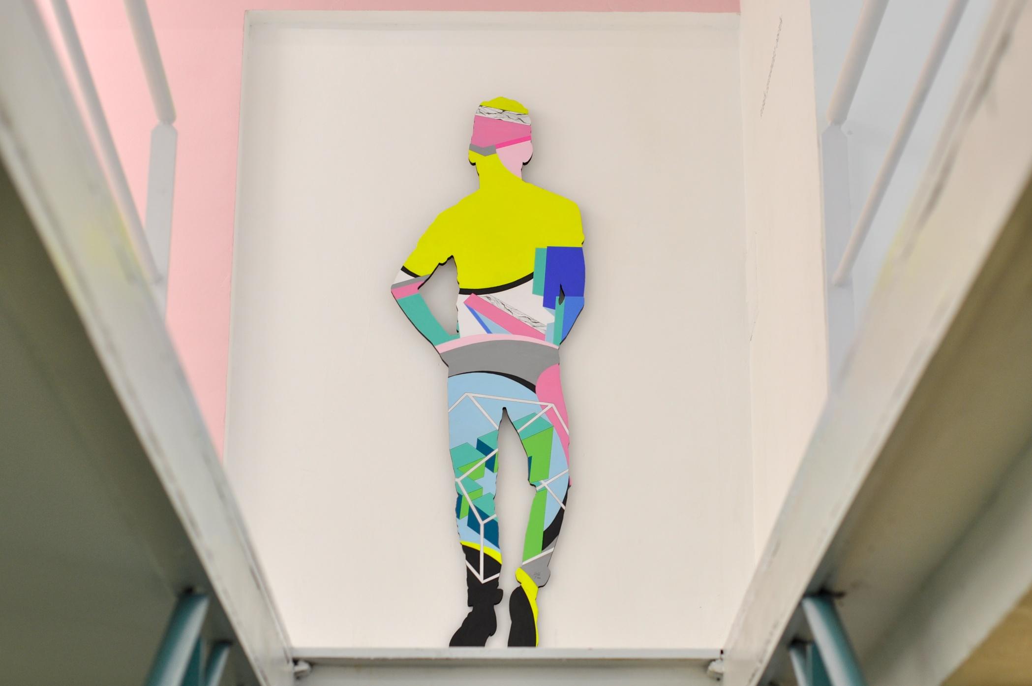 Rubén Fernández Castón saboreando espacio nuca pintura obra pictórica espacio art arte contemporáneo galería exposición artístico