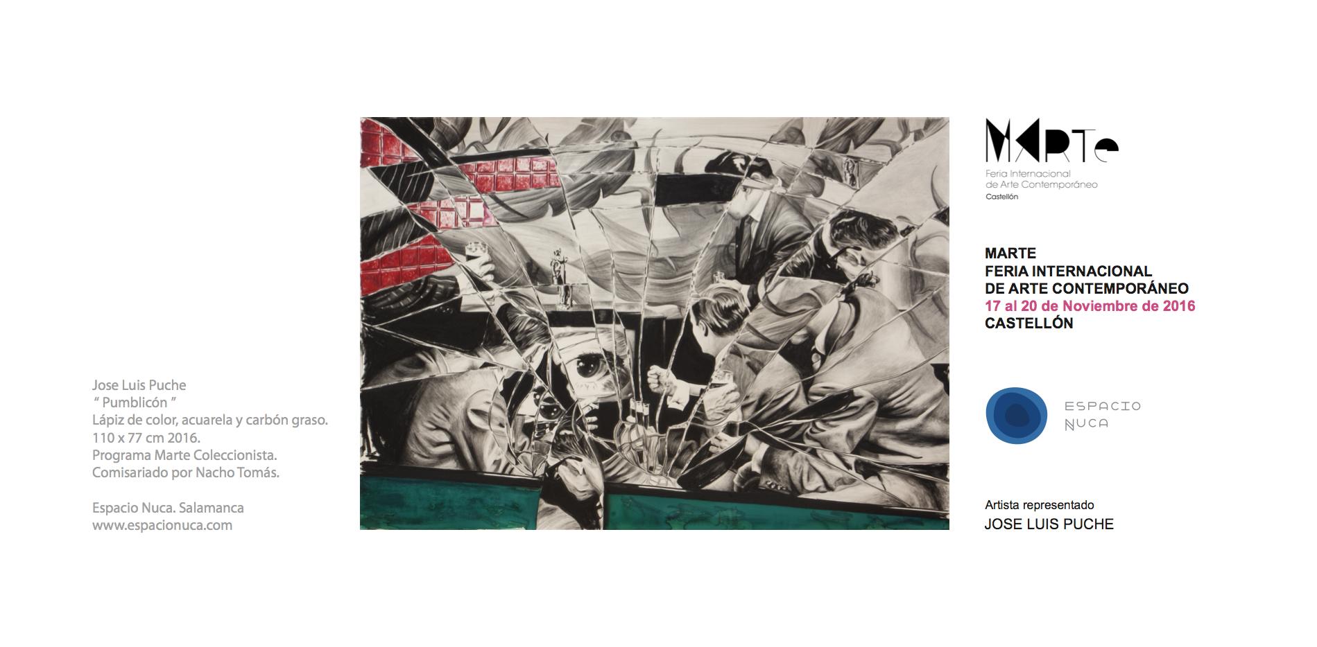 Espacio Nuca Galerias de arte Castilla y León. Espacio Nuca Eduardo Nuca ferias exposiciones eventos exhibiciones galería arte artístico artistas conceptual Salamanca. Arte Contemporáneo Salamanca. Arte actual Salamanca.