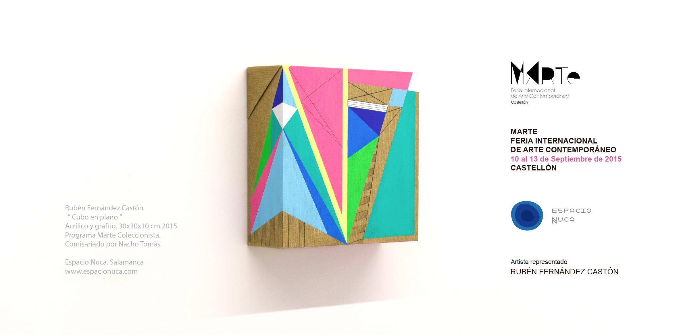 Espacio Nuca Eduardo Nuca ferias exposiciones eventos exhibiciones galería arte artístico artistas conceptual