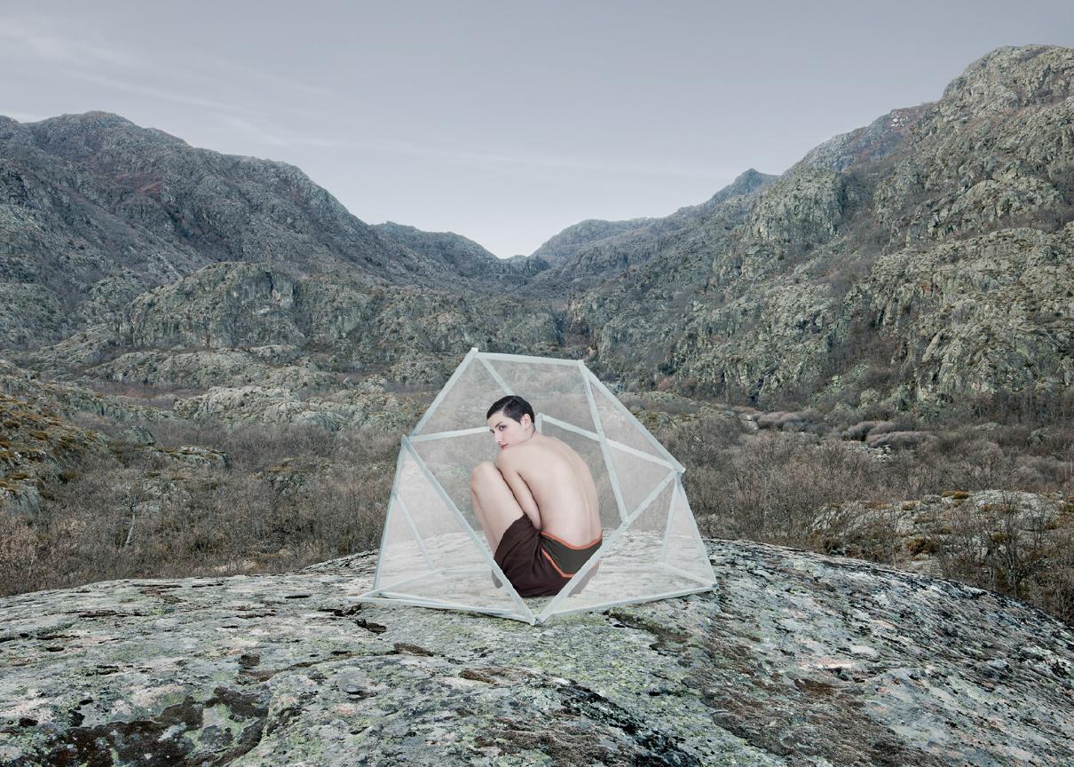 Antonio Guerra espacio natural paisaje juego visual naturaleza art arte contemporáneo galería exposición artístico