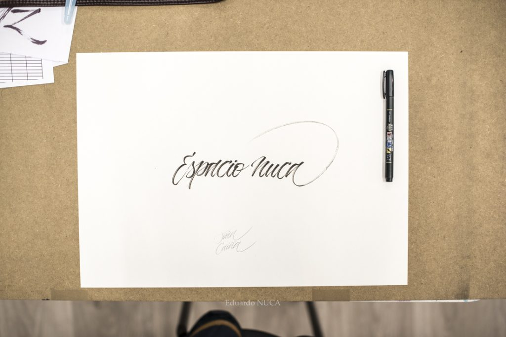 lettering Salamanca lettering Castilla y León Caligrafía Escritura artística Educación artística Salamanca mejores escuelas de arte Castilla y León