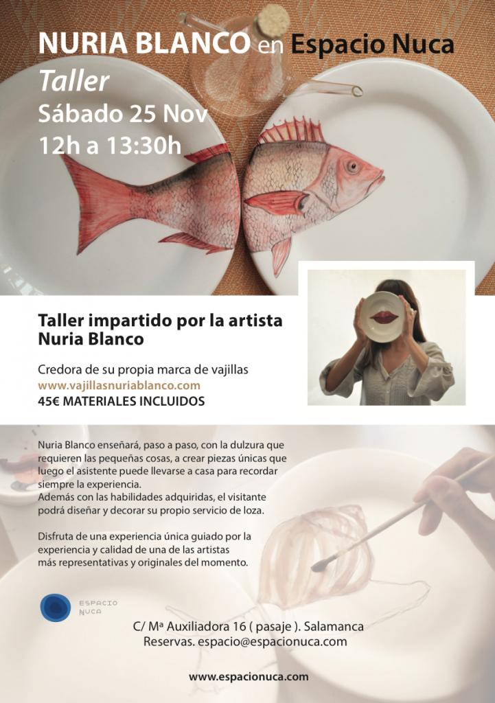 Espacio Nuca Salamanca Eduardo nuca espacio nuca taller artistas cerámica vajilla
