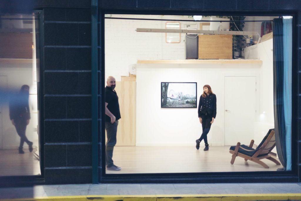 Irene Cruz Espacio Nuca art gallery Salamanca galería de arte fotografía contemporáneo woman