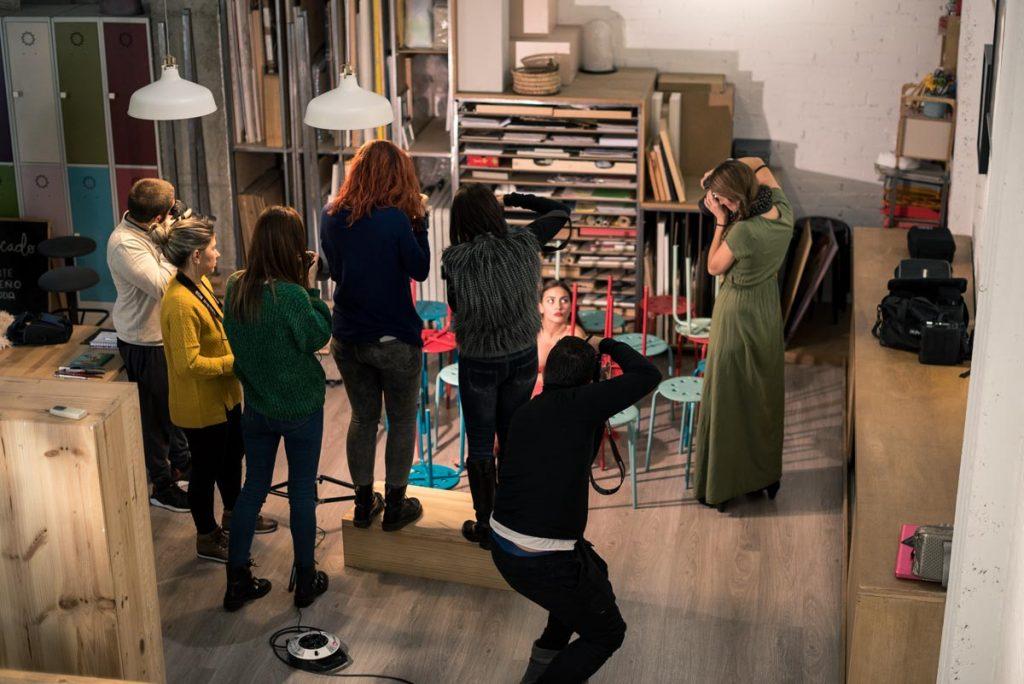 espacio nuca escuela de fotografía salamanca, workshop Mara Saiz, Profoto
