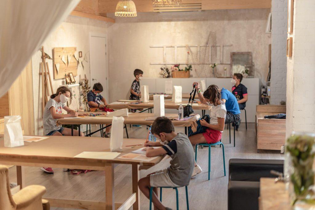 Taller de dibujo y pintura para niños en Salamanca